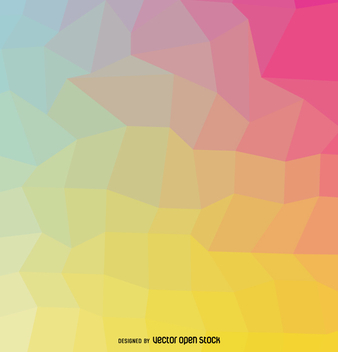 Soft colors geometrical cover - Free vector #357847