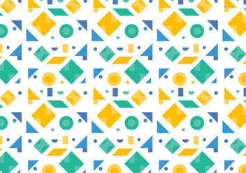 Free Green Pattern #4 - vector gratuit #357987