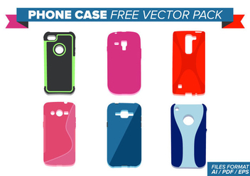 Phone Case Free Vector Pack - Kostenloses vector #358027