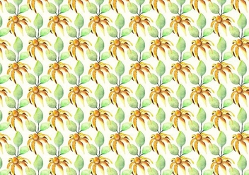 Free Vector Watercolor Summer Pattern - Kostenloses vector #358187