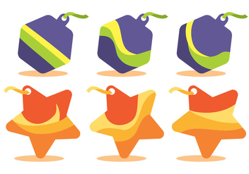 Wobbler Vector Set - Kostenloses vector #358207