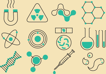 Science And Technology Icons - Free vector #358217