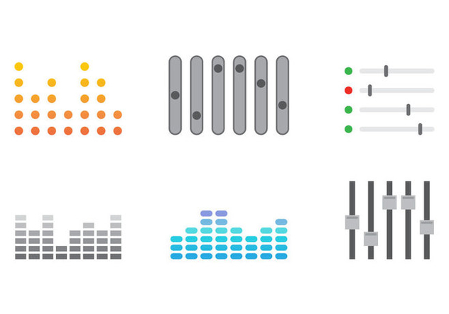 Free Sound Bars Vector #3 - Free vector #358287
