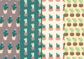 Vector Planter Pattern Set - бесплатный vector #358387