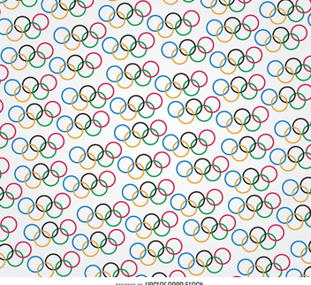 Olympic rings pattern - Kostenloses vector #358477