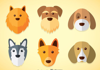 Dogs Vector Sets - vector gratuit #358607