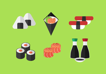 Vector Sushi - Free vector #358707