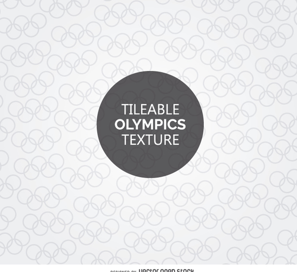 Tileable Olympic symbol texture - Kostenloses vector #358727
