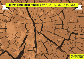 Dry Eroded Tree Free Vector Texture - vector #358817 gratis