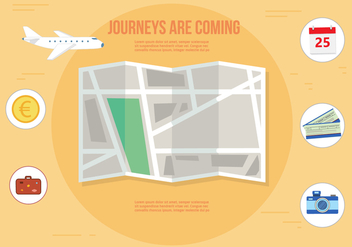 Free Journey Vector Illustration - Free vector #358857