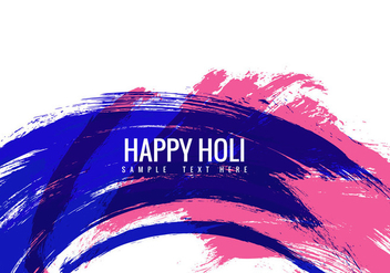 Free Holi Colorful Vector Background - Free vector #358907