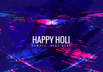 Free Colorful Holi Vector background - Free vector #358937