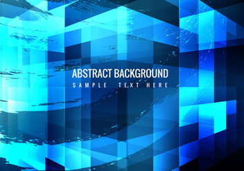 Free Vector Blue Background - бесплатный vector #359037