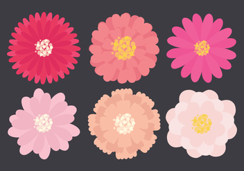 Vector Flower Collection - vector gratuit #359297