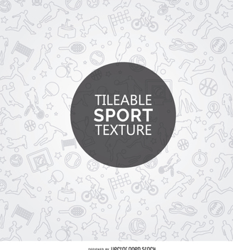 Tileable sport texture - Free vector #359417