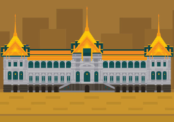 Vector Grand Palace - vector #359627 gratis