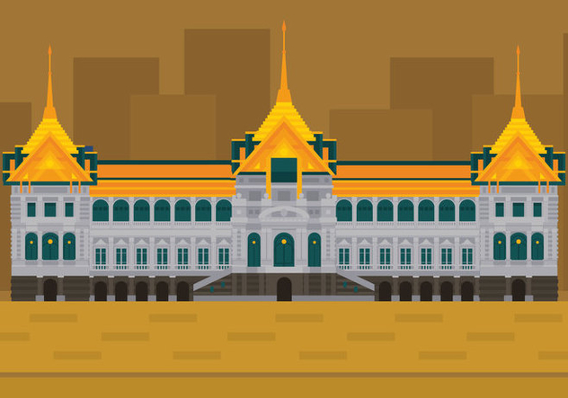 Vector Grand Palace - vector gratuit #359627