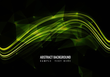 Free Shiny Glowing Wave Vector - бесплатный vector #359987