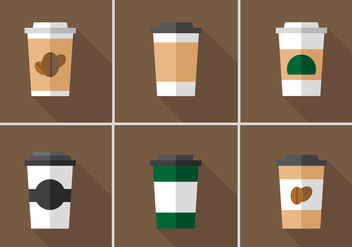 Vector Coffee Sleeve - vector gratuit #360147