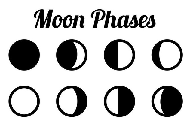 Vector moon phases download free vector art, stock graphics & images.