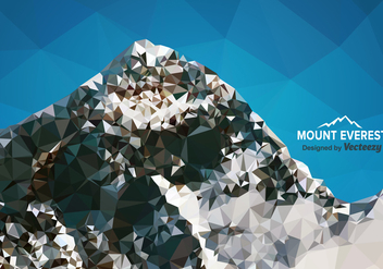 Free Polygon Mount Everest Vector - Free vector #360507
