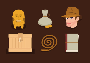 Vector Indiana Jones - vector gratuit #360597