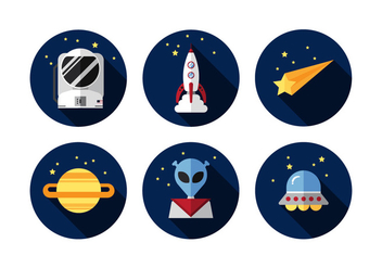 Vector Outer Space - vector #360987 gratis