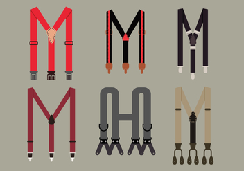Suspenders Vector Pack - бесплатный vector #361167