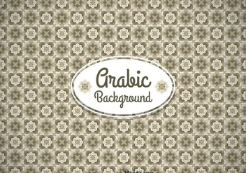Aravic Classic Ornament Background - vector #361407 gratis