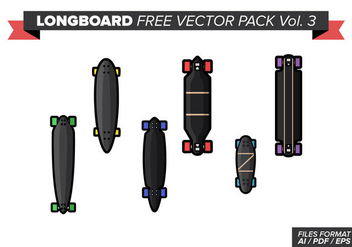 Longboard Free Vector Pack Vol. 3 - Free vector #361557