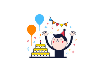 Free Birthday Vector - Free vector #361817