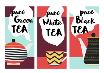 Free Tea Vector Background - vector gratuit #361907