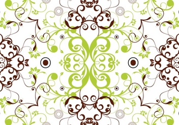 Spring Seamless Floral Background Vector - Free vector #361967
