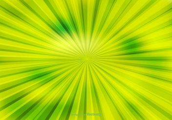Green Abstract Sunburst Background - vector gratuit #362117