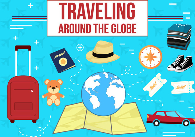 Free Travelling Vector Icons - Kostenloses vector #362427