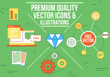 Free Vector Icons and Illustrations - бесплатный vector #362457