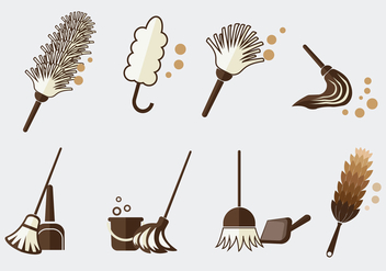 Cleaning Tools Vector - Kostenloses vector #362487
