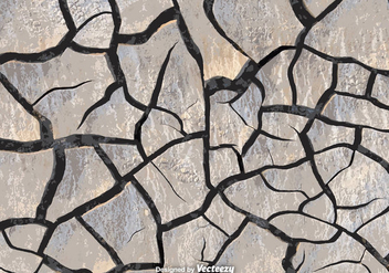 Realistic Vector Eroded Stone Path Texture - vector gratuit #363227