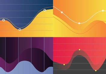 Free Bell Curve Visualization Vector - Free vector #363407