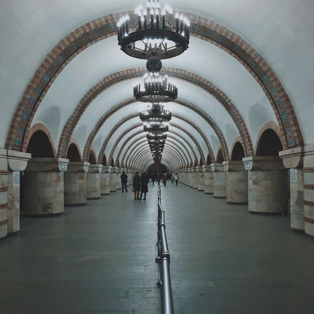 Interior of subway station - бесплатный image #363697