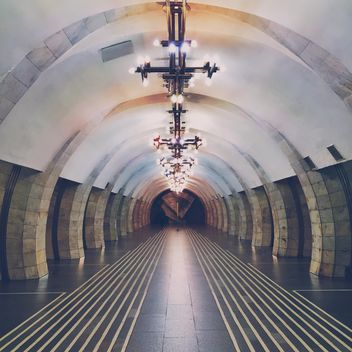 Interior of subway station - бесплатный image #363707