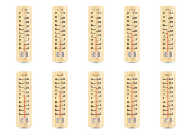 Wooden Thermometer - Free vector #363727