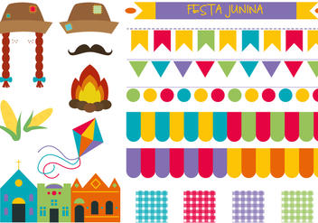 Free Junina Vector - бесплатный vector #364007