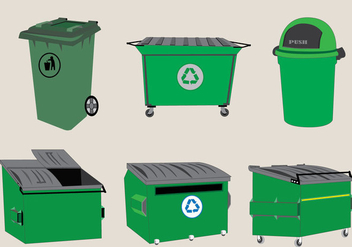 Dumpster Units Vector - Free vector #364327