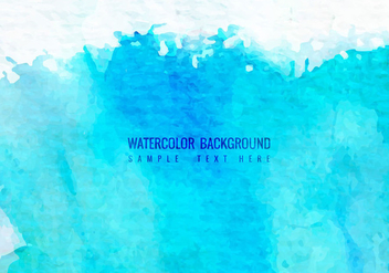Free Vector Watercolor Background - Free vector #364557