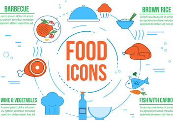Free Fresh Vector Food - vector #364717 gratis