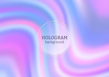 Free Vector Purple Hologram Background - Kostenloses vector #364787