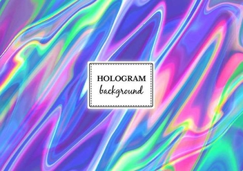 Free Vector Bright Marble Hologram Background - Kostenloses vector #364937