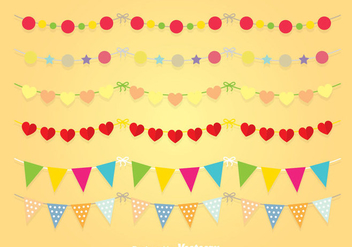 Junina Decoration vector - Kostenloses vector #364977