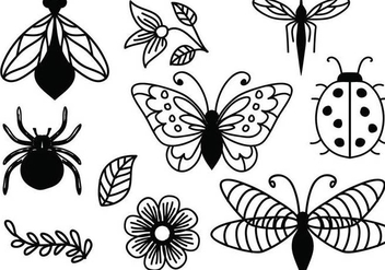 Free Ornamental Nature Vectors - vector #365157 gratis